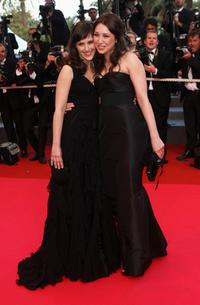Clementine Poidatz and Laura Smet at the Palais des Festivals during the 61st International Cannes Film Festival.