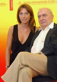Laura Smet and Claude Chabrol at the