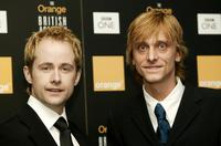 Billy Boyd and Mackenzie Crook at the Orange British Academy Film Awards.