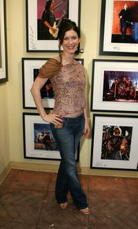 Lauren Maher at the VH1 Art Exhibition Opening.