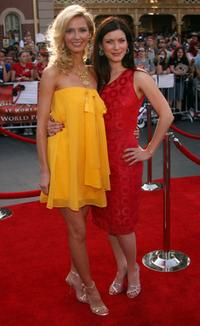 Vanessa Branch and Lauren Maher at the premiere of