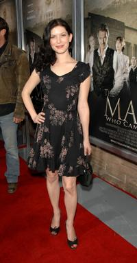 Lauren Maher at the premiere of