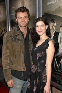 Timothy Prindle and Lauren Maher at the premiere of