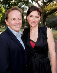Brian Walsh and Claudia Karvan at the media launch of season 3 of