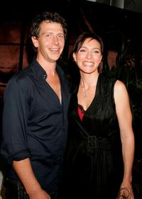 Ben Mendelsohn and Claudia Karvan at the media launch of season 3 of