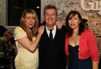 Lisa Hensley, Jimmy Barnes and Claudia Karvan at the official launch of