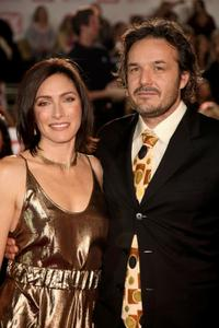 Claudia Karvan and Jeremy Sparks at the 50th Annual TV Week Logie Awards.