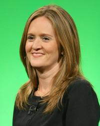 Samantha Bee at the week of Republican National Convention.
