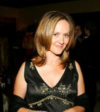 Samantha Bee at the after party of Comedy Central Emmy.