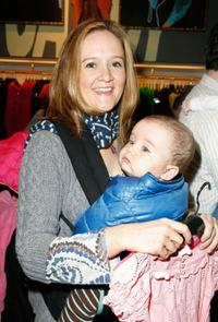 Samantha Bee at the Divalysscious Moms shopping event.