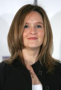 Samantha Bee at the New York Women in Film and Television's 26th Annual Muse Awards.