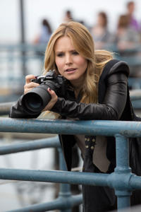 Kristen Bell as Veronica Mars in