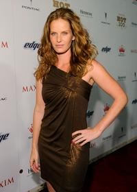 Rebecca Mader at the Maxim's 2008 Hot 100 Party.