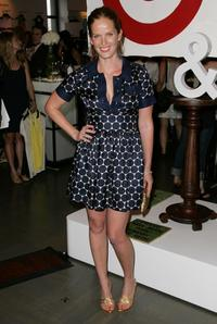 Rebecca Mader at the Rogan for Target debut at Barneys.