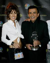 Kerri Casem and Casey Kasem at the 2003 Radio Music Awards.