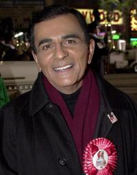 Casey Kasem at the Hollywood Christmas Parade.