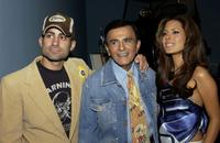 Mike Kasem, Casey Kasem and Kerri Kasem at the Golden Dads Awards ceremony.