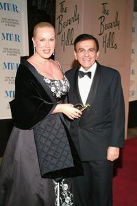 Jean Kasem and Casey Kasem at the Museum of Television and Radio's gala tribute to Barbara Walters.