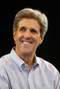 John Kerry at the town hall style meeting in Hollywood.