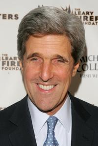 John Kerry at the 6th Annual bash for New York's bravest to benefit the Leary Firefighters Foundation.