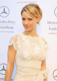 KaDee Strickland at the Mercedes Benz Fashion Week.