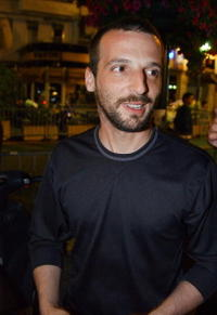 Mathieu Kassovitz at the palais des festivals screening of