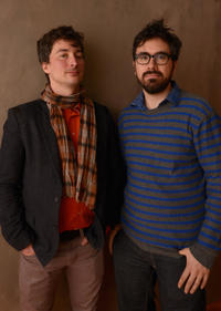 Cinematographer Matthias Grunsky and Andrew Bujalski at the portrait session of