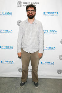 Andrew Bujalski at the Sloan WIP Readings & Cocktails during the 2012 Tribeca Film Festival in New York.
