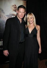 Scott Wiper and Tory Mussett at the special screening of