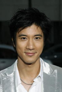Actor Wang Lee Hom at the Beverly Hills premiere of