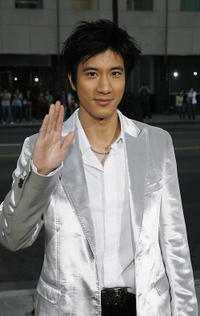 Wang Lee Hom at the California premiere of