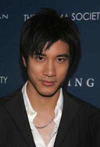 Wang Lee Hom at the N.Y. premiere of
