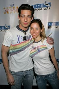 James Carpinello and Kerry Butler at the 21st annual
