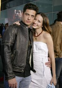 James Carpinello and Amy Acker at the Los Angeles premiere of