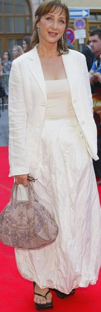 Christine Kaufmann at the premiere of