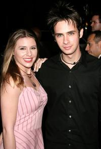 Heather Weeks and Scott Mechlowicz at the world premiere of