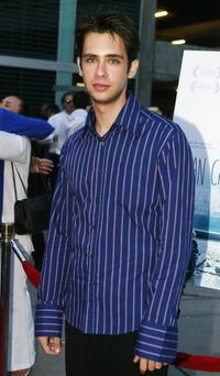 Scott Mechlowicz at the premiere of