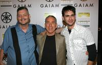 Director Victor Salva, Dan Millman and Scott Mechlowicz at the premiere of