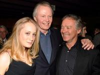 Tamara Hope, Jon Voight and Christopher Cain at the after party of the special VIP screening of