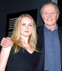 Tamara Hope and Jon Voight at the special VIP screening of