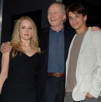 Tamara Hope, Jon Voight and Trent Ford at the special VIP screening of