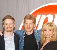 David Hornsby, Michael Weaver and Loni Anderson at the UPN Upfront Previews.