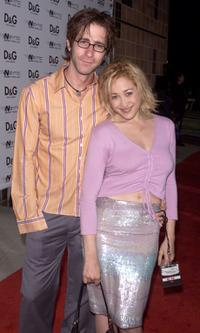 Richard Gunn and Jennifer Blanc at the premiere of