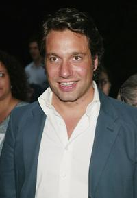 Thom Filicia at the Public Theater's summer benefit and opening night performance of