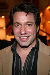 Thom Filicia at the Louis Vuitton 150th Anniversary party and store opening during the Olympia Fashion Week 2004.