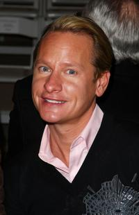 Carson Kressley at the Dennis Basso Fall 2009 fashion show during the Mercedes-Benz Fashion Week.