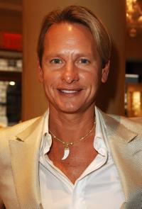 Carson Kressley at the Mercedes-Benz Fashion Week.