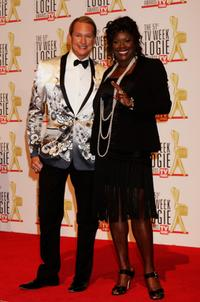 Carson Kressley and Marcia Hines at the 51st TV Week Logie Awards.