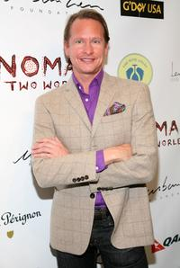 Carson Kressley at the Nomad Two Worlds Preview Exhibit.