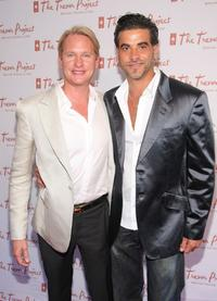 Carson Kressley and John Guerrera at the Ninth Annual Trevor New York Summer Gala.